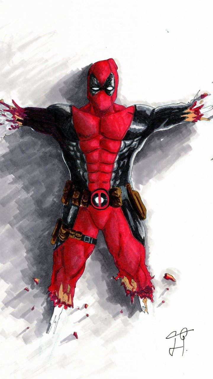 Deadpool HD Wallpapers For Moto G4 Play