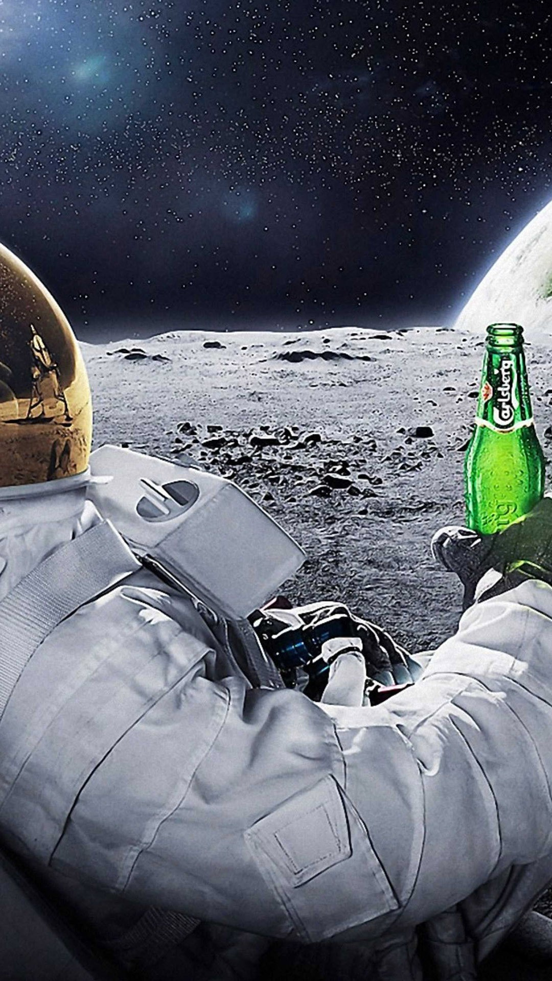 astronaut drinking miller lite beer - photo #15