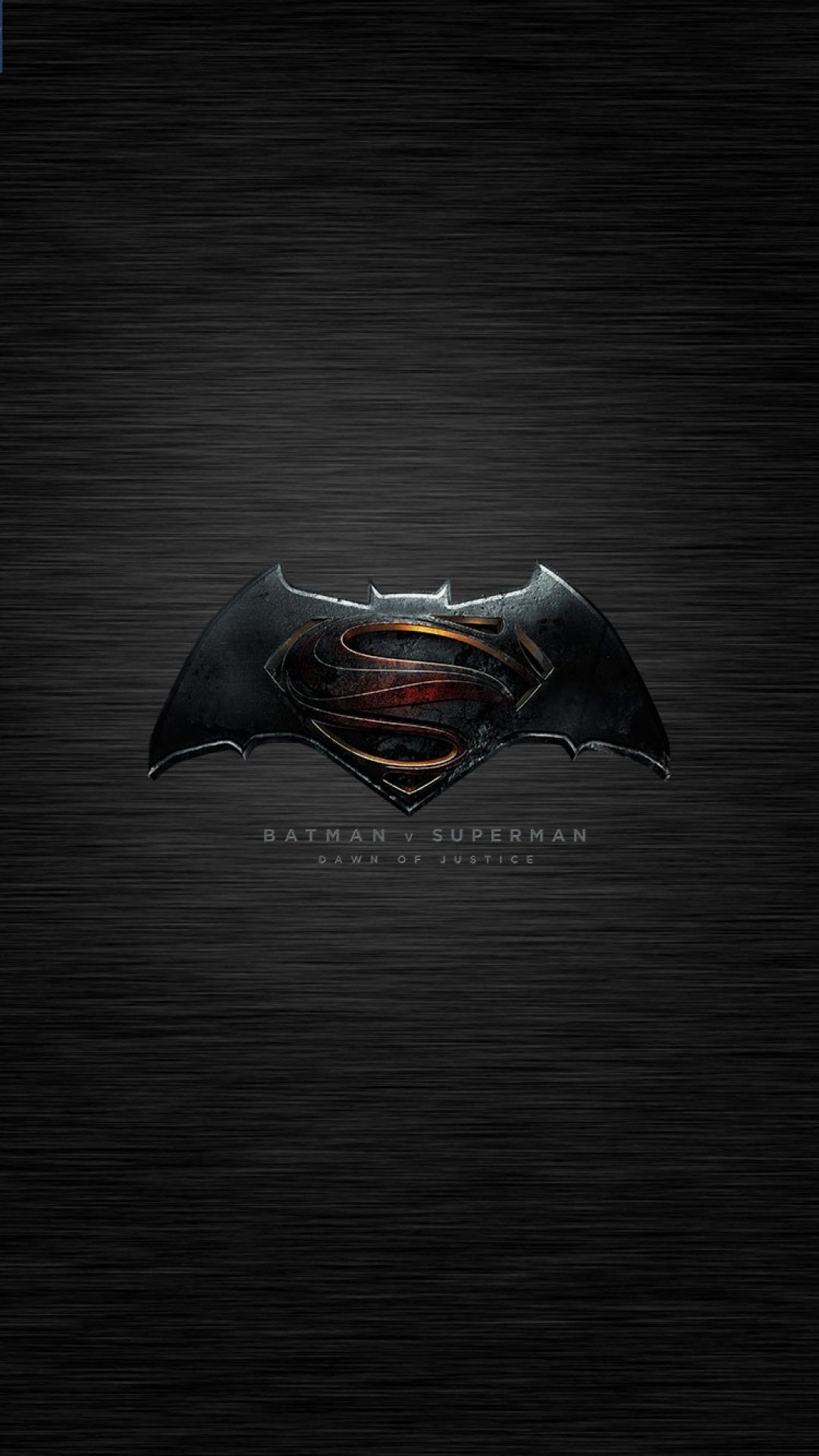 Download 1 Batman Face With Superman Logo IPhone 7