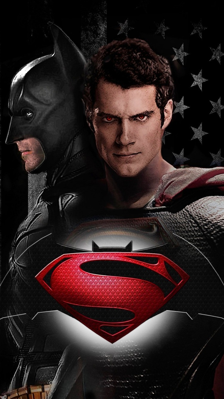 Batman Vs Superman Wallpapers And Backgrounds With The Logos IPhone 6