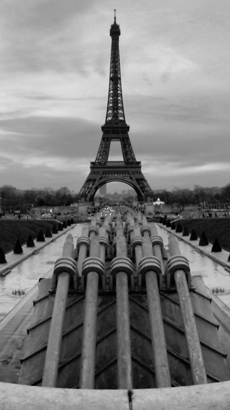 IPhone 6s Download 0 Black And White Paris Wallpaper