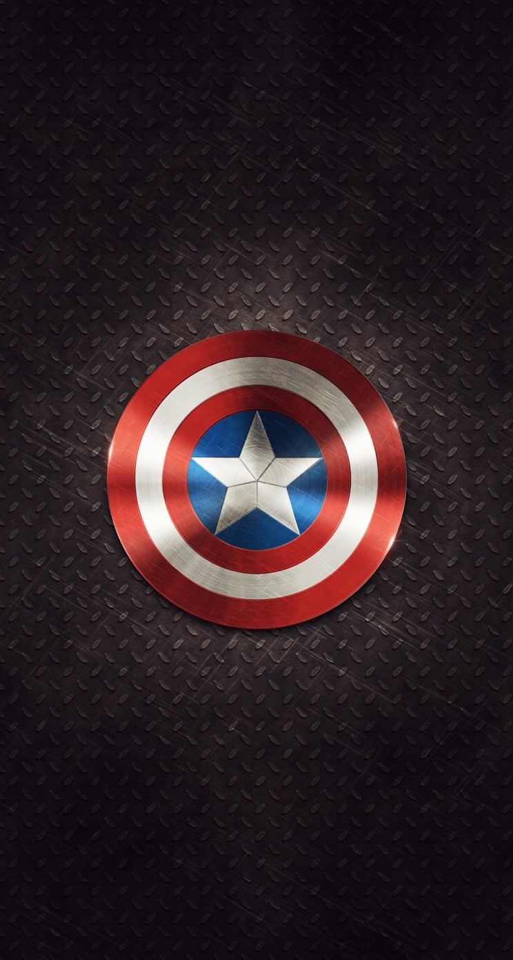 Hd wallpaper iphone 5 - Captain America Shield