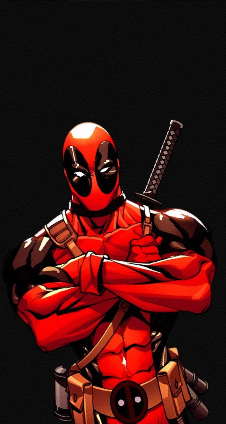 Deadpool hd wallpapers for iphone 5 5s 5c wallpapers deadpool comic voltagebd Choice Image