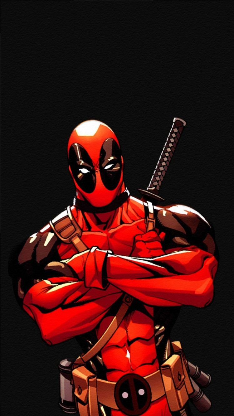 Download 0. Deadpool from the movie. iPhone 6s
