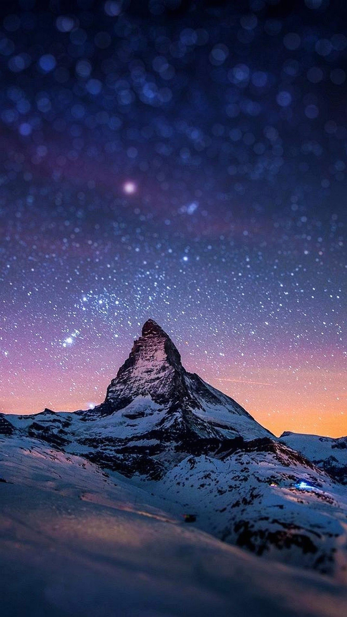 Night And Stars Hd Wallpapers For Galaxy S6 S6 Edge Wallpapers