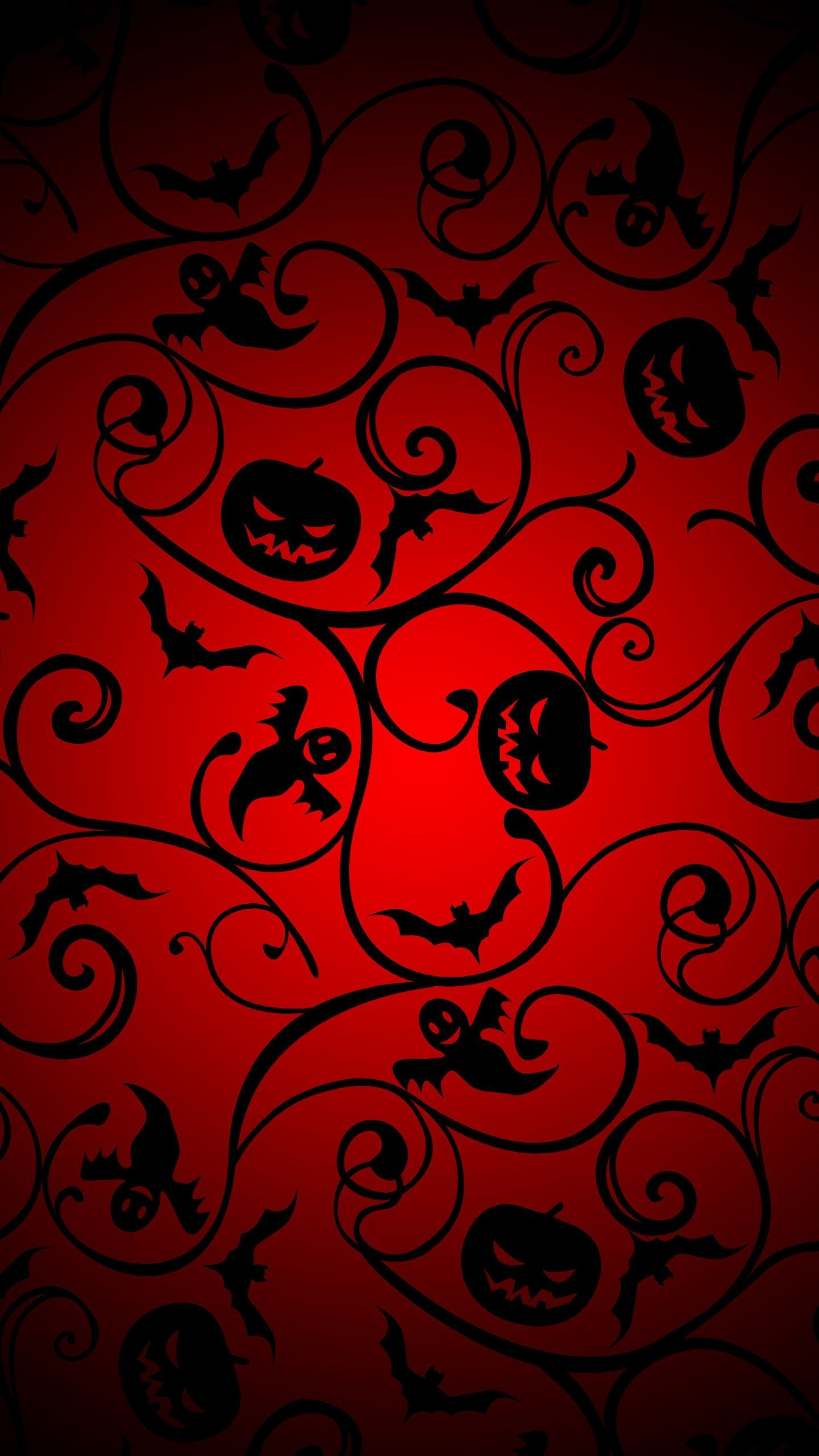 Simple Wallpaper Halloween Galaxy - halloween-pattern-2-wallpaper-background-1440x2560  Trends_279570.jpg