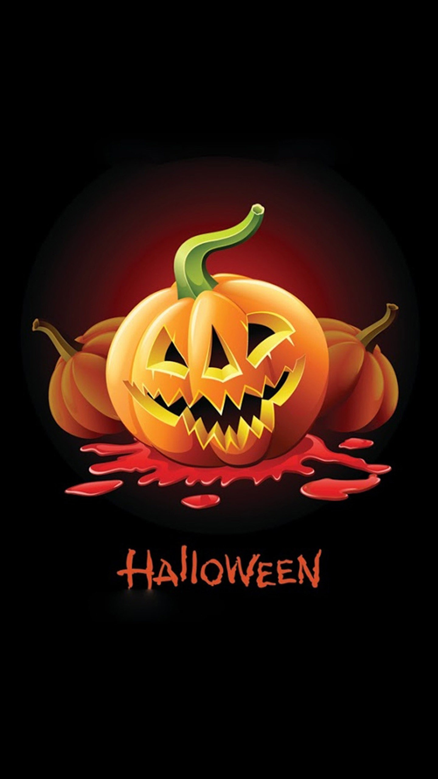 Wonderful Wallpaper Halloween Lock Screen - halloween-pumpkin-2-wallpaper-background-1440x2560  2018_528212.jpg