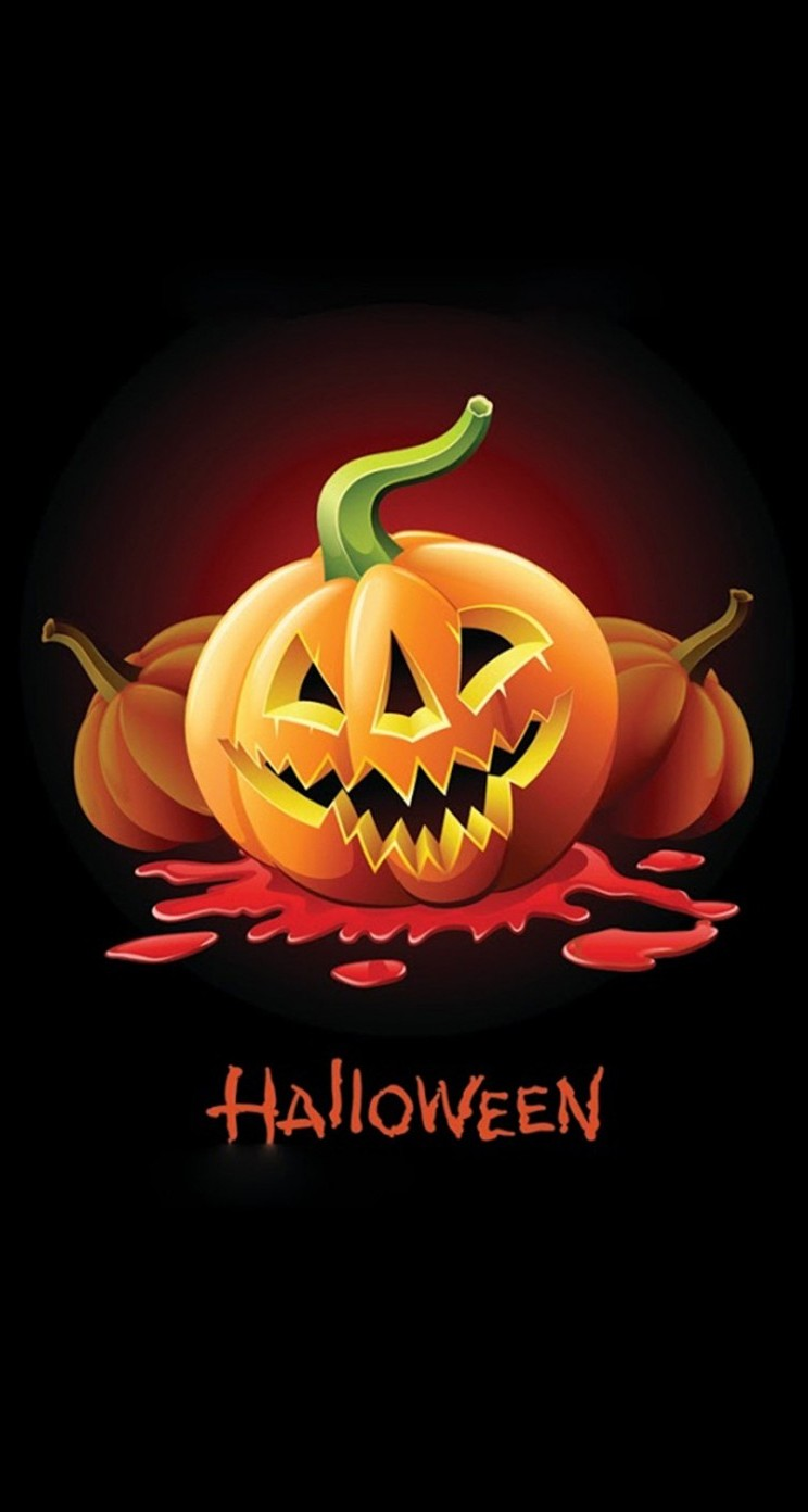 Amazing Wallpaper Halloween Iphone 5 - halloween-pumpkin-2-wallpaper-background-744x1392  Collection_312474.jpg