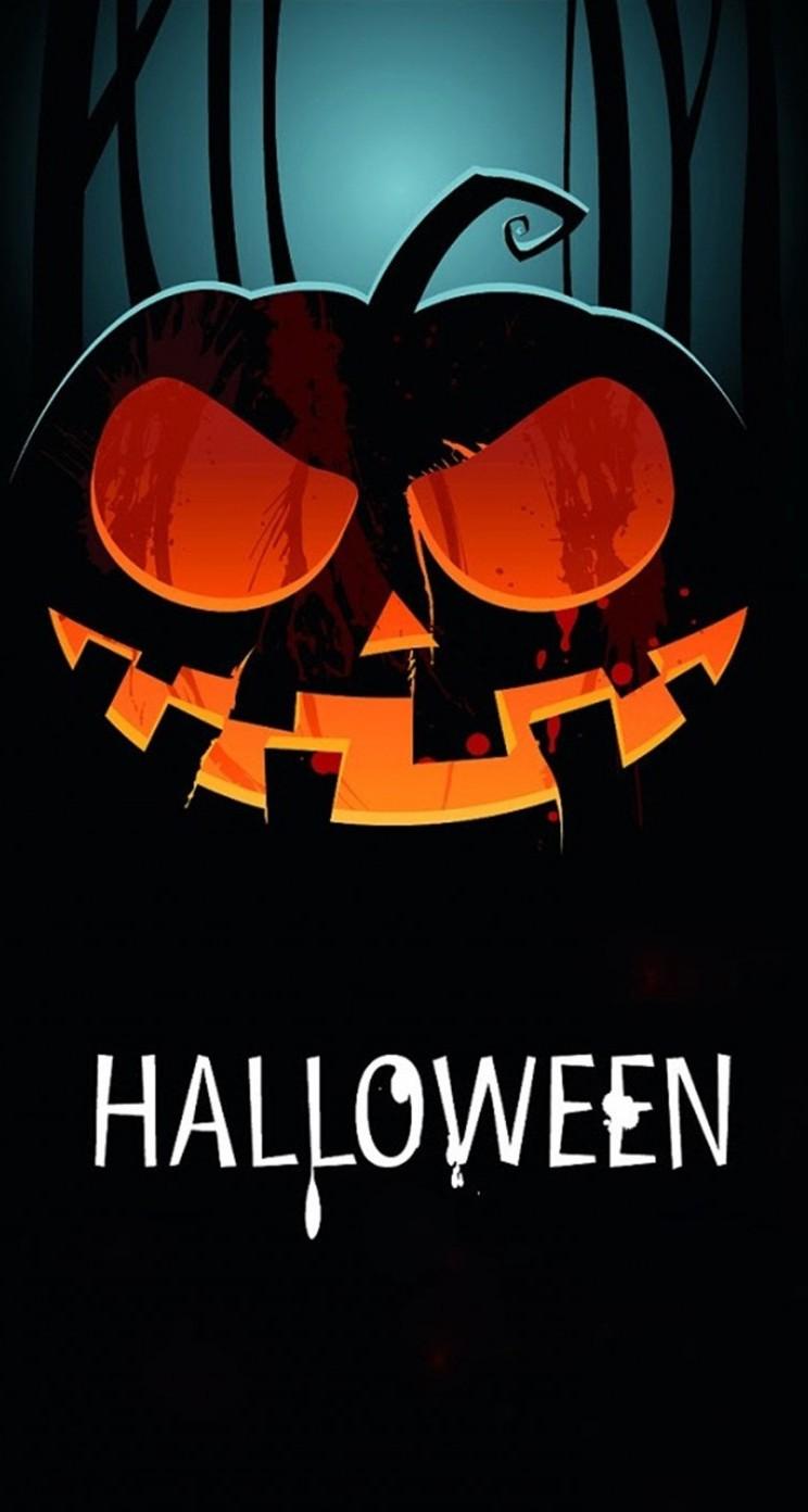 Best Wallpaper Halloween Iphone 5 - halloween-pumpkin-wallpaper-background-744x1392  Pictures_486474.jpg