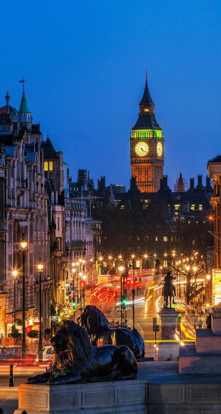 Wallpaper iphone london - Cloudy London