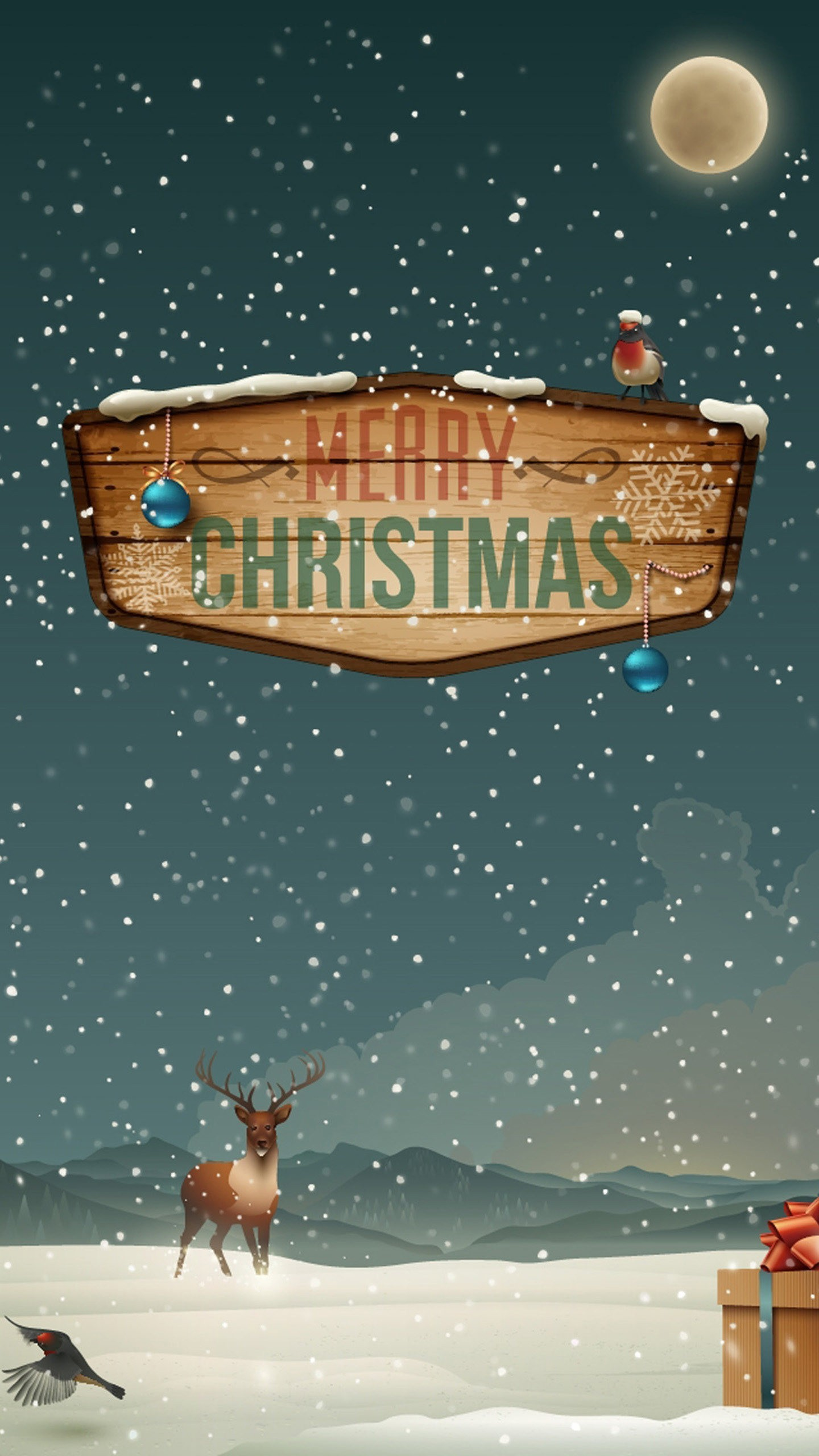 Christmas HD Wallpapers For Galaxy S7 Edge Wallpapers