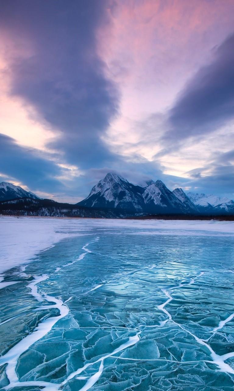 Cool Wallpaper Mountain Nokia - mountain-and-ice-lake-wallpaper-background-768x1280  Photograph_45618.jpg