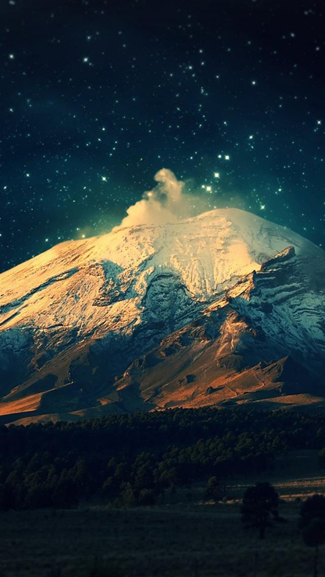 Top Wallpaper Mountain Iphone 7 - mountain-snow-and-night-wallpaper-background-1080x1920  Collection_943247.jpg