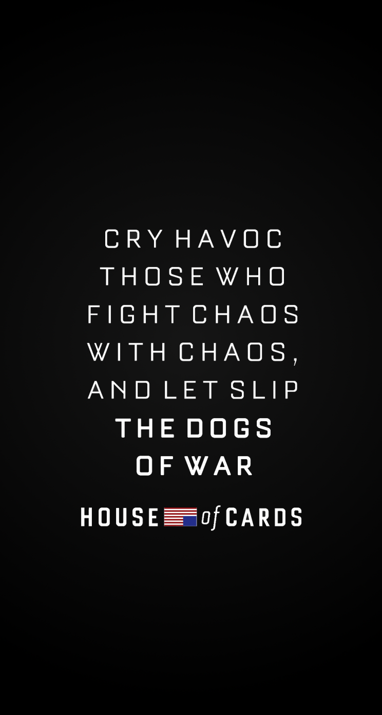 House Of Cards HD Wallpapers For IPhone 5 5s 5c