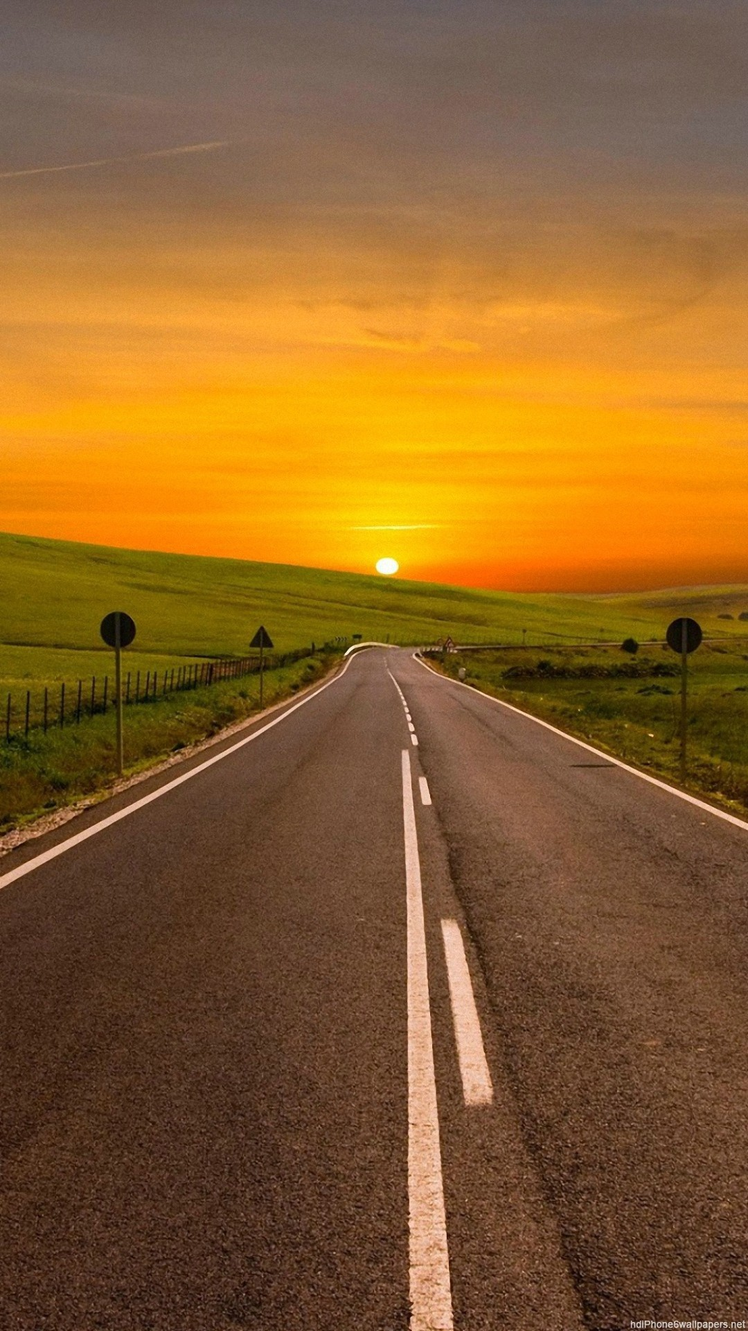 Road Hd Wallpapers For Iphone 7 Wallpaperspictures