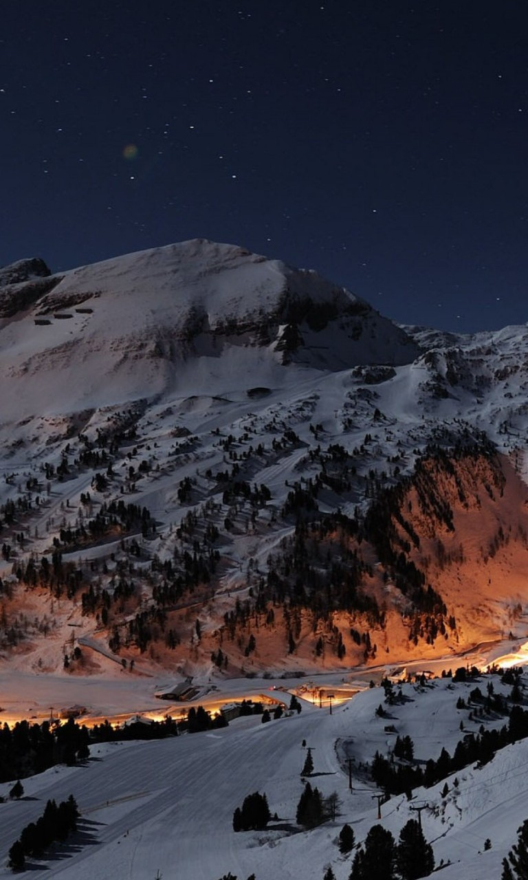 Must see Wallpaper Mountain Nokia - ski-slope-in-the-night-wallpaper-background-768x1280  Snapshot_174863.jpg
