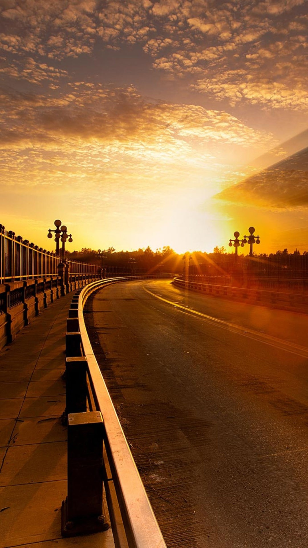 Road Sunset Wallpaper Road HD Wallpapers for...