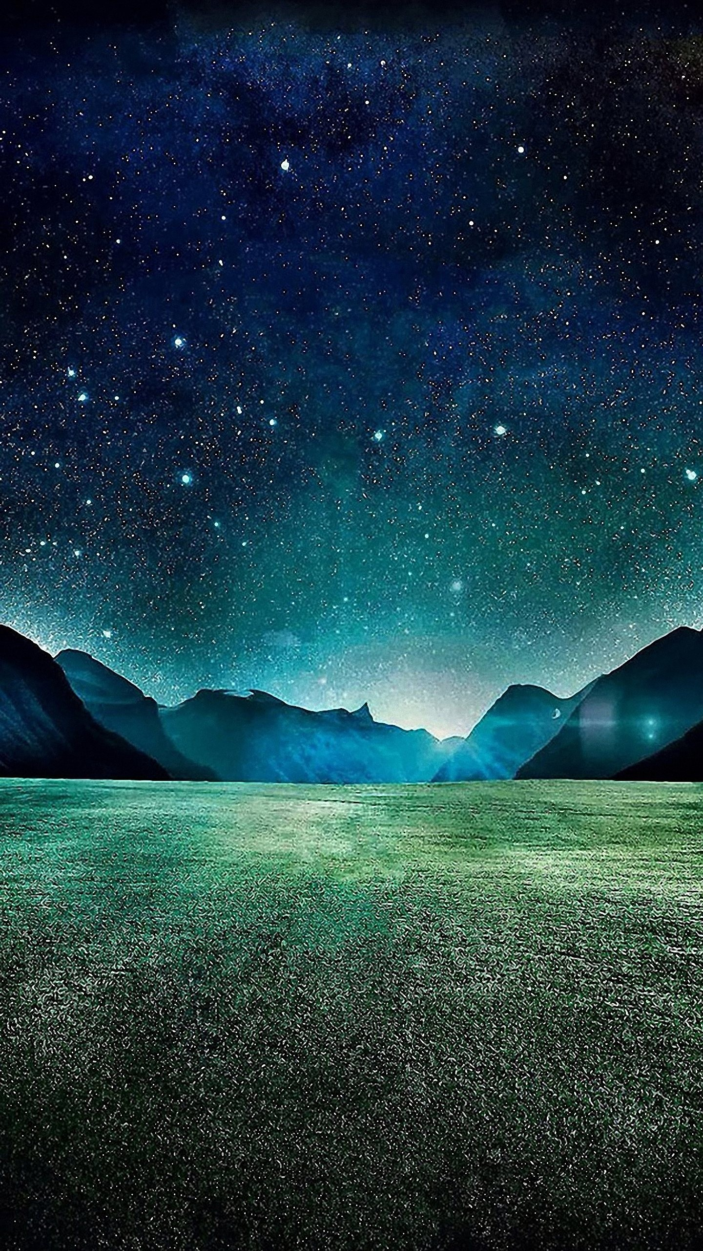Fantastic Wallpaper Night Galaxy - the-space-from-earth-wallpaper-background-1440x2560  You Should Have-644935.jpg